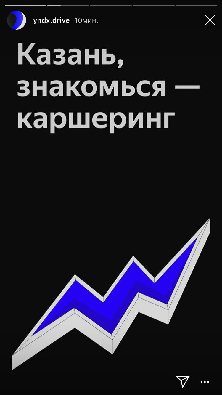 Каршеринг Яндекс Драйв в Казани
